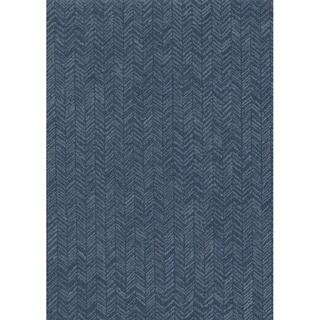 Fabric Chevron Wallpaper, 20.8 in. x 32.8 ft. - 20.8 in. x 32.8 ft. = 56.9 sq.ft