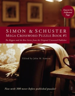 Simon & Schuster Mega Crossword Puzzle Book (Paperback)