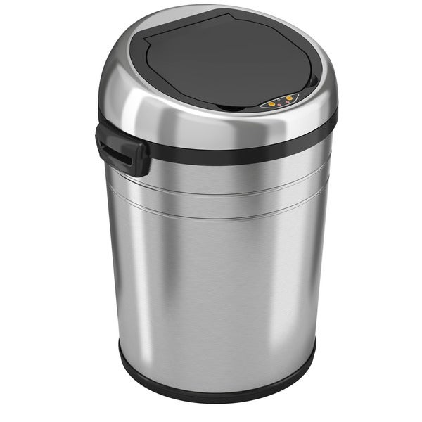 iTouchless 18-gallon Automatic Sensor Trash Can 3092008