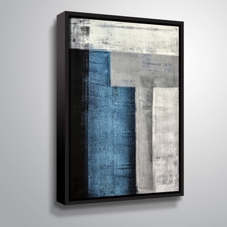 "ArtWall ""T"" Gallery Wrapped Floater-framed Canvas"