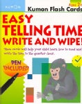 Easy Telling Time: Write and Wipe! (Cards)