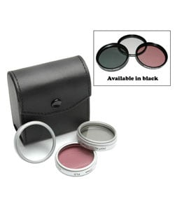 Crystal Optics 52mm 3-piece Glass Filter Set