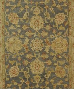 Safavieh Handmade Antiquities Jewel Grey Blue/ Beige Wool Rug (6' x 9')