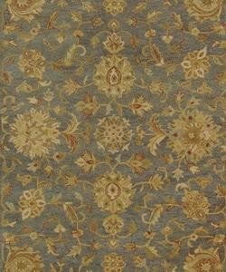 Safavieh Handmade Antiquities Jewel Grey Blue/ Beige Wool Rug (8'3 x 11')