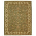 Safavieh Handmade Antiquities Gem Green Wool Rug (8'3 x 11')