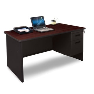 Marvel 48-inch Single Pedestal Steel Desk