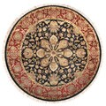 Hand-knotted Legacy New Zealand Wool Rug (8' Round)