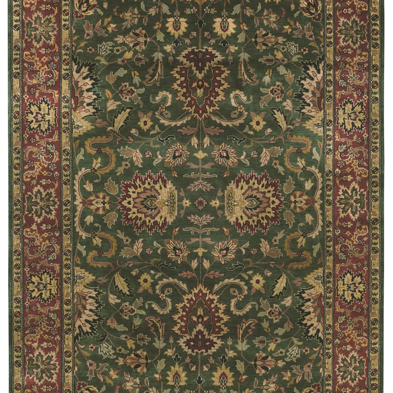 Hand-knotted Legacy Collection Wool Rug (8' Square)