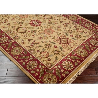 Hand-knotted Babylon Collection Wool Rug (5'6 x 8'6')