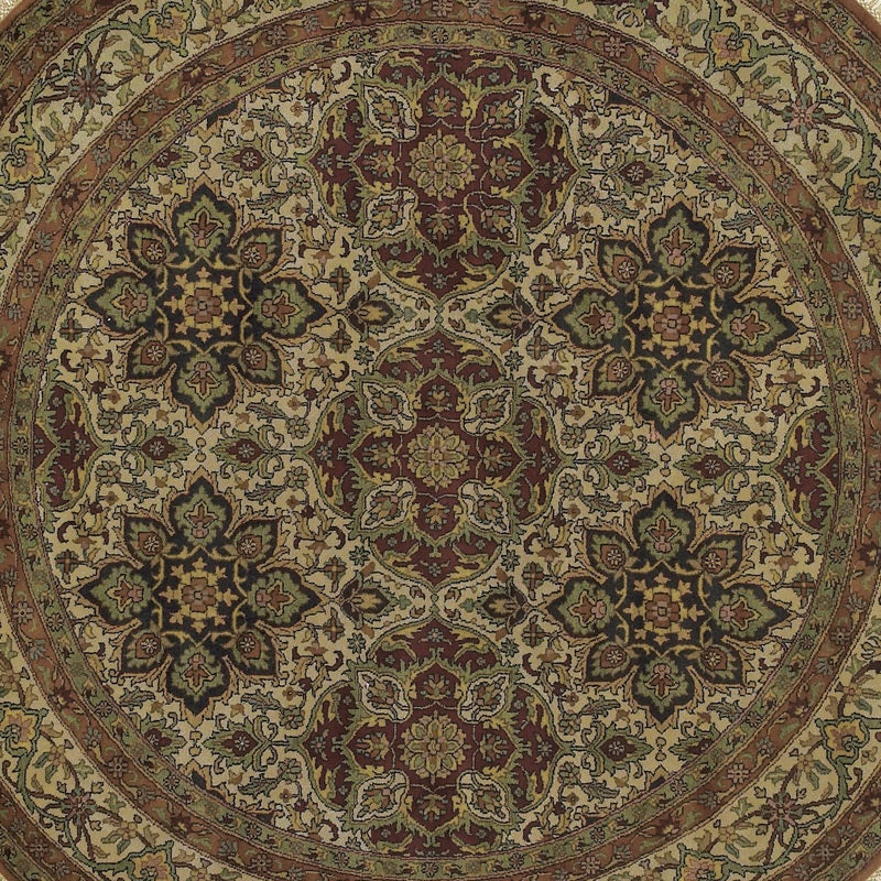 Hand-knotted Legacy Collection Wool Rug (8' Round)