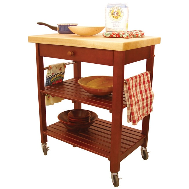 Roll-About Kitchen Cart