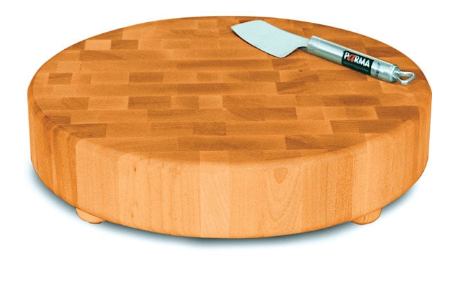 Catskill Craftsmen Round Slab End Grain Chopping Block
