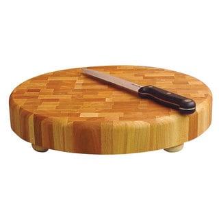 14-inch Round Slab Cutting Board w/ Feet