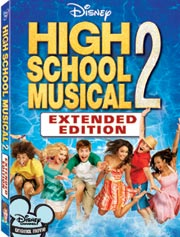 High School Musical 2: Extended Edition (DVD)