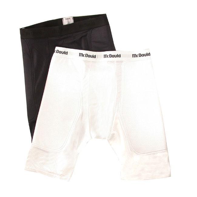 McDavid Nylon/Spandex Cup-pocket Athletic Sliding Shorts (Set of Two)