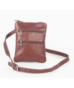 Aston Everyday Slim Shoulderbag with Zipper Pocket
