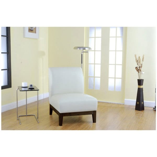 Cole Creme Leather Chair