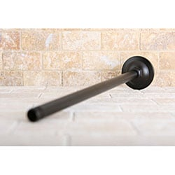 Oil Rubbed Bronze 10-inch Rain Showerhead with 17-inch Ceiling Support