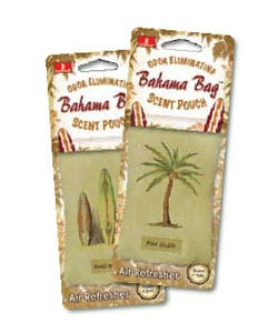 Bahama Bag Scent Pouch Air Freshener (Case of 6)