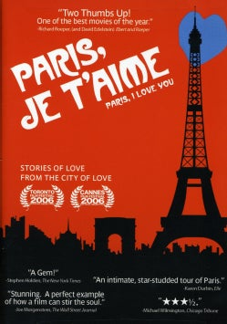 Paris, Je T'Aime (DVD)