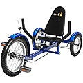 MoboTriton Ultimate 3-wheeled Blue Cruiser