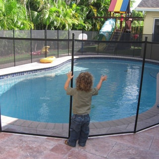 Water Warden Pool Safety Fence Overstock Shopping The Best Prices On Water Warden Pool Safety