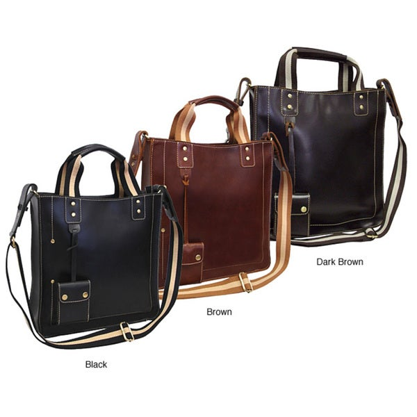 Amerileather Legacy Leather Tote Bag