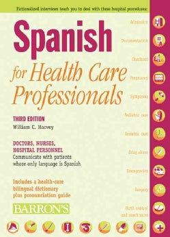 Spanish for Health Care Professionals (Paperback)