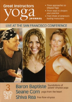 Yoga Journal: Great Instructors 3 Pack (DVD)