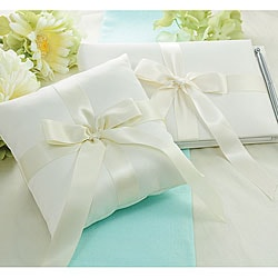 Tied with a Bow Ring Pillow