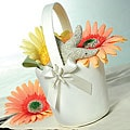 Beach Flower Girl Basket
