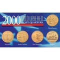 American Coin Treasures 2000 Gold-layered Statehood Quarters