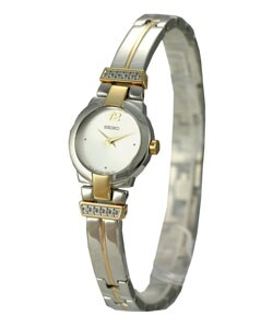 Seiko Two-Tone Diamond Women's Dress Quartz Watch