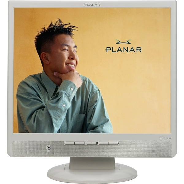 "Planar PL1700M-white 17"" LCD Monitor - 5 ms"