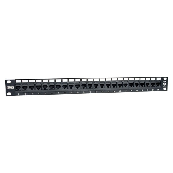 Tripp Lite 24-Port 1U Rackmount Cat6 110 Patch Panel