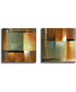 Loreth Sonoran Shadows Stretched Canvas Set (2-piece)