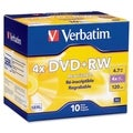 Verbatim DataLifePlus 94839 DVD Rewritable Media - DVD+RW - 4x - 4.70