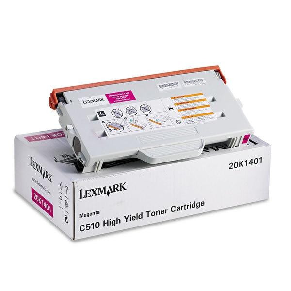 Lexmark Magenta Toner Cartridge - 6600 Page - Magenta
