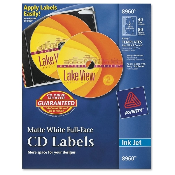 Avery Full Face CD Labels