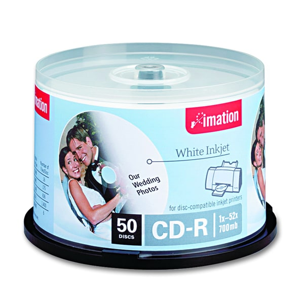 Imation CD Recordable Media - CD-R - 52x - 700 MB - 50 Pack Spindle