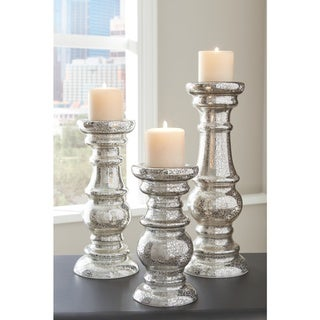 "Rosario Candle Holder - Candle holder-medium: 5.5"" W x 5.5"" D x 12.5"" H"