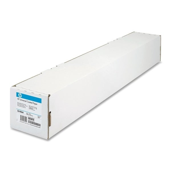 "HP Universal Coated Paper - 42"" x 150' - 1 Roll - Coated Paper"