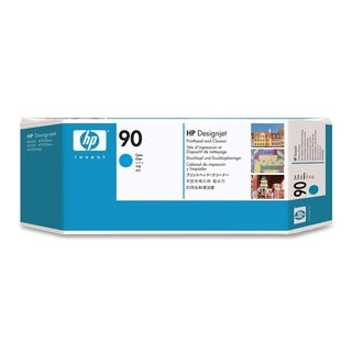 HP 90 Cyan Printhead and Printhead Cleaner