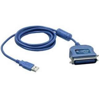 TRENDnet TU-P1284 USB to Parallel 1284 Printer Cable Adapter