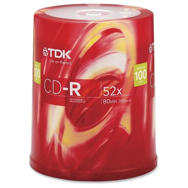 TDK 52x CD-R Media