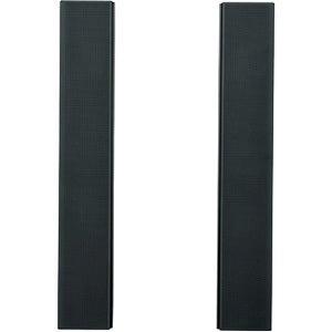 Panasonic 2.0 Speaker System - Black, Silver, Gray