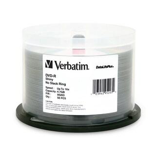 Verbatim DVD-R 4.7GB 16X DataLifePlus Shiny Silver Silk Screen Printa