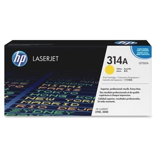 HP 314A (Q7562A) Yellow Original LaserJet Toner Cartridge