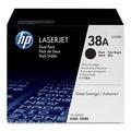 HP 38A (Q1338D) 2-pack Black Original LaserJet Toner Cartridges
