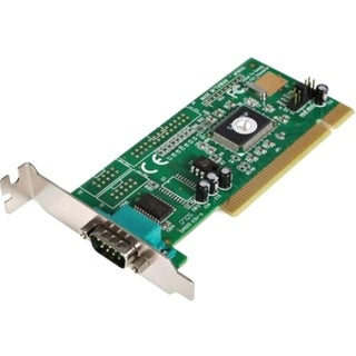 StarTech.com 1 Port PCI Low Profile RS232 Serial Adapter Card with 16